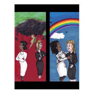 Past Hatred, Present Love Postcard