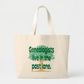 Past Lane Large Tote Bag