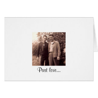 Past love... card