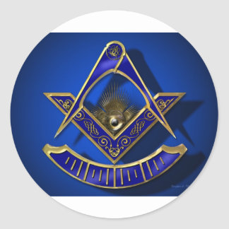 Past Master Products Classic Round Sticker
