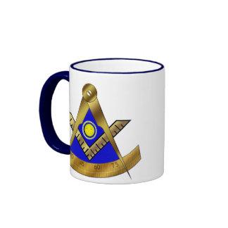 Past Master W SQUARE Ringer Coffee Mug