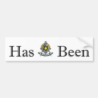 Past Masters Bumper Sticker