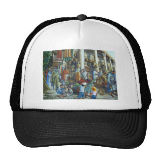 Past, present and future in Jerusalem, Holy City Trucker Hat