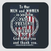 Past Present And Future Veterans Day Stickers
