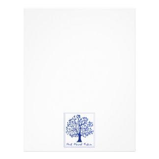 Past, Present, Future Tree Letterhead