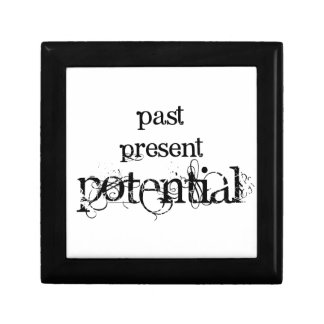 Past Present Potential Trinket Box