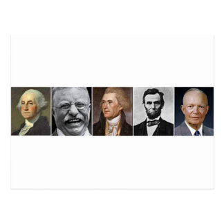 Past Presidents Postcard