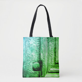 Past with a twist times 2 tote bag