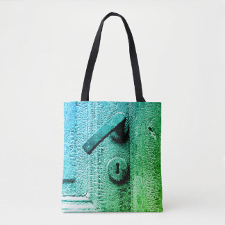 Past with a twist tote bag