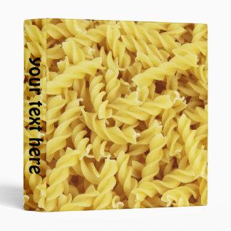 Pasta Background Binder