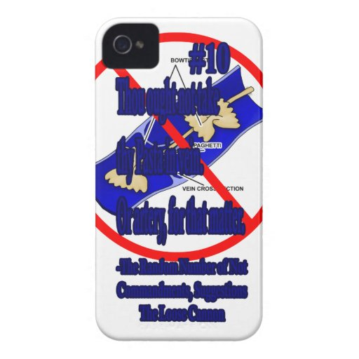 Pasta by Vein iPhone 4 Case-Mate Cases