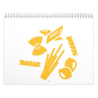 Pasta Calendar