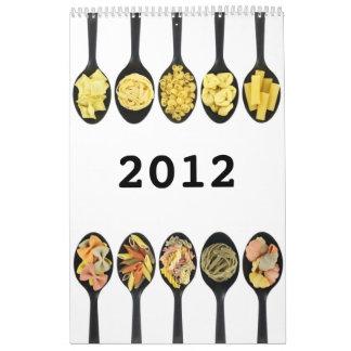 Pasta calendar 2012