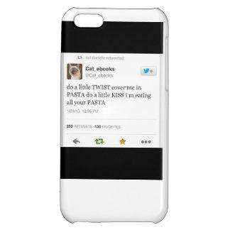 pasta cat tweet cover for iPhone 5C