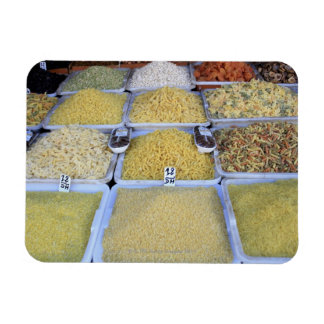 Pasta, Cereal, Basket, Italian Food, Market Rectangle Magnets