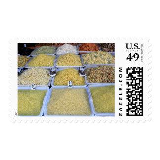 Pasta, Cereal, Basket, Italian Food, Market Stamp