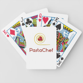 Pasta Chef Bicycle Playing Cards