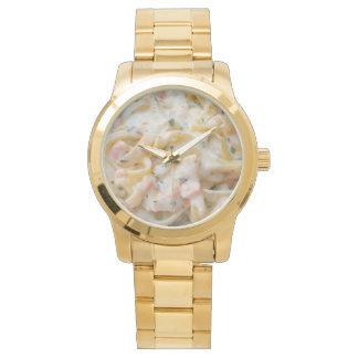 Pasta Custom Food Photo Wrist Watch