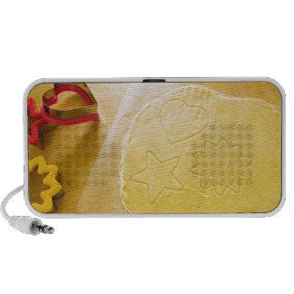 Pasta de la galleta laptop altavoces