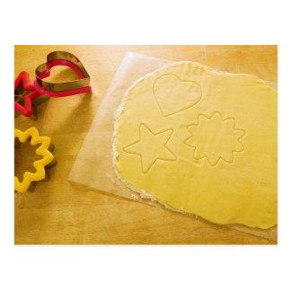 Pasta de la galleta postal
