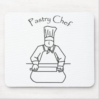 Pasta de Rolls del chef de repostería Tapetes De Ratón