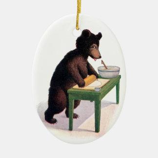 Pasta del balanceo del oso de peluche para las gal adorno para reyes