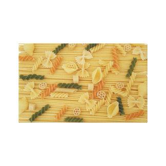 Pasta Everywhere Canvas Print