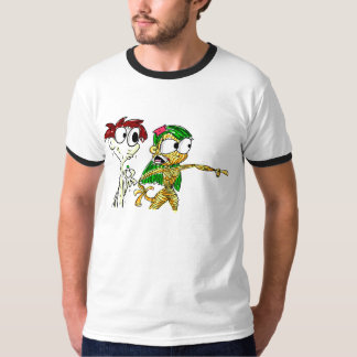 Pasta Girl and Mayo Boy T-shirt