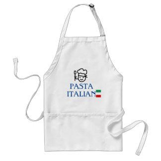 Pasta Italiano Italy flag chef Adult Apron