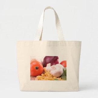 Pasta Large Tote Bag