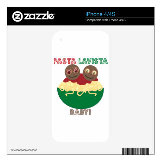 Pasta Lavista, Baby Skin For iPhone 4S