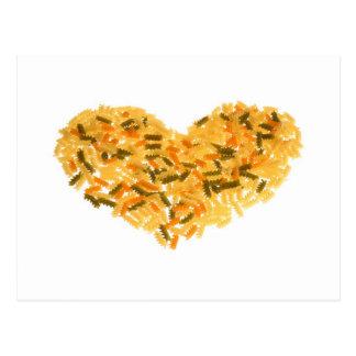 Pasta Love Postales
