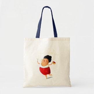 Pasta Lover Lady Tote Bag