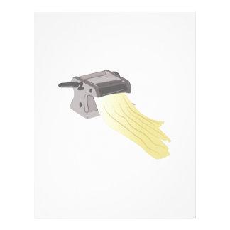 Pasta Maker Letterhead