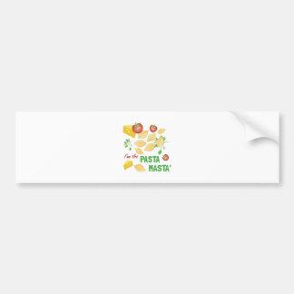 Pasta Masta Bumper Sticker