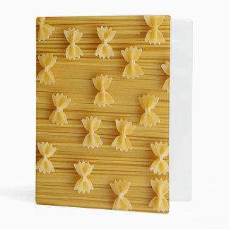 pasta mini binder