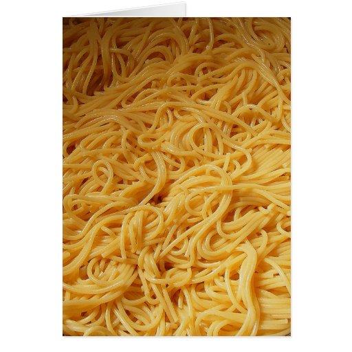 Pasta Night Dinner Invite Cards