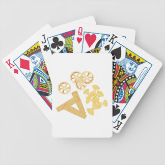 Pasta Noodles Bicycle Playing Cards