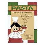 Pasta Party 5x7 Paper Invitation Card