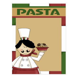 Pasta Party Invitation Post Cards