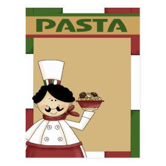 Pasta Party Invitation Postcard