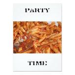 Pasta  PARTY TIME Invitation