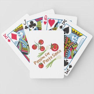 Pasta Sauce Bicycle Playing Cards