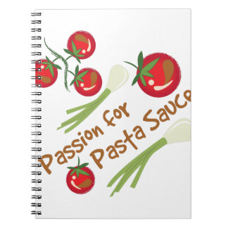 Pasta Sauce Notebook