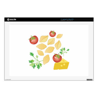 Pasta Shells Skin For Laptop