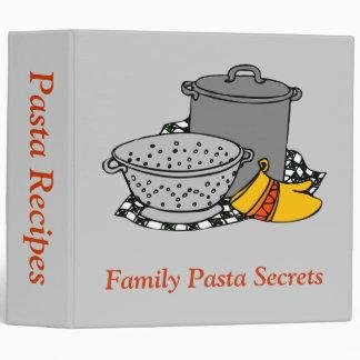 Pasta Tools 3 Ring Binder
