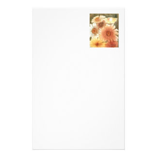 """""""Pastal Daisies"""" Floral Stationery"""