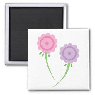 Pastal Floral Magnet