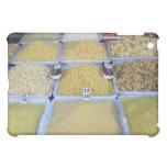 Pastas, cereal, cesta, comida italiana, mercado
