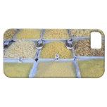 Pastas, cereal, cesta, comida italiana, mercado iPhone 5 carcasa